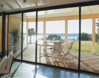 Patio doors capital windows for Sliding glass doors onto deck