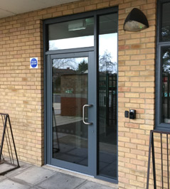 Commercial doors can be fitted with other face fixed or concealed door closers. Each have their different uses and advantages.