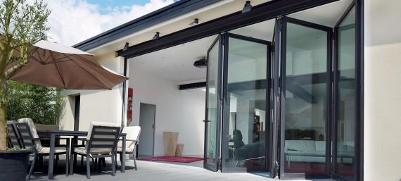 Bifold-doors Reynaers